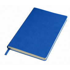 Блокнот FUNKY A5, 130х210 мм, м'яка обкладинка, лінія, 256 сторінок синій-насичений/сірий