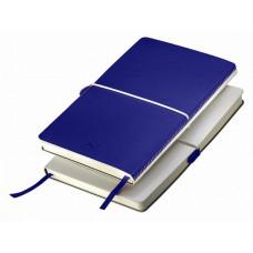 Блокнот FRANKY A5, 130х210 мм, мягкая обложка, в линию, 256 страниц синий