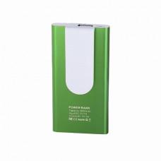 Повербанк HitClip, 3000 mAh, з кліпсою зелений