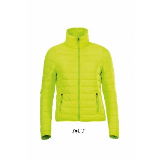 Куртка жіноча SOL'S RIDE WOMEN неон-лайм