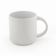 Керамическая чашка матовая SELENA 350 мл белый
