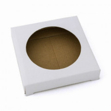 Упаковка с окошком для тарелки 51КТ02  белый