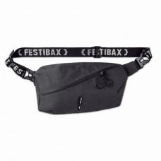 Сумка поясная FESTIBAX® BASIC, полиэстер черный