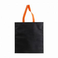 Сумка POINT BLACK, 38х41, 55см, спанбонд  черно-оранжевый
