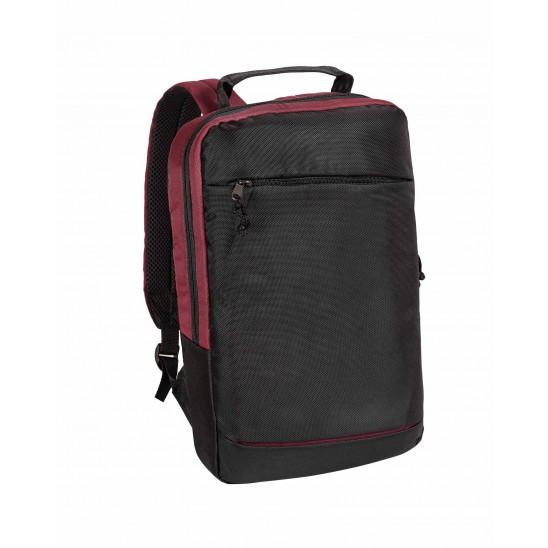 Рюкзак для ноутбука 15 дюймов (чёрный-бордо)