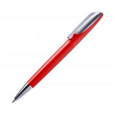 Ручка кулькова, пластикова з металевим кліпом Leon, ТМ
