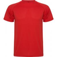 Футболка Roly Montecarlo (Красный )