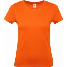 Футболка B&C #E150\woman (Оранжевый )