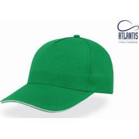 Кепка Atlantis Start Five Sandwich (Зеленый с Белым )