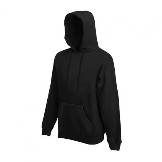 Толстовка с капюшоном FOL Classic Hooded Sweat  Black