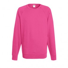 Облегченный реглан FOL Lightweight Raglan Sweat Fuchsia
